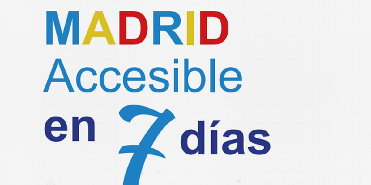 Accessible Madrid in 7 Days