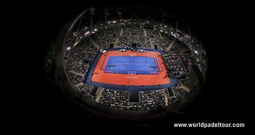 You'll find the finest padel at Madrid Arena Multipurpose Pavilion©World Padel Tour