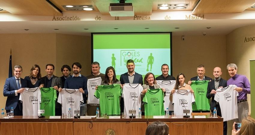 "The sporting event will be held at Madrid Arena Multipurpose Pavilion©""Goals for Equality"""