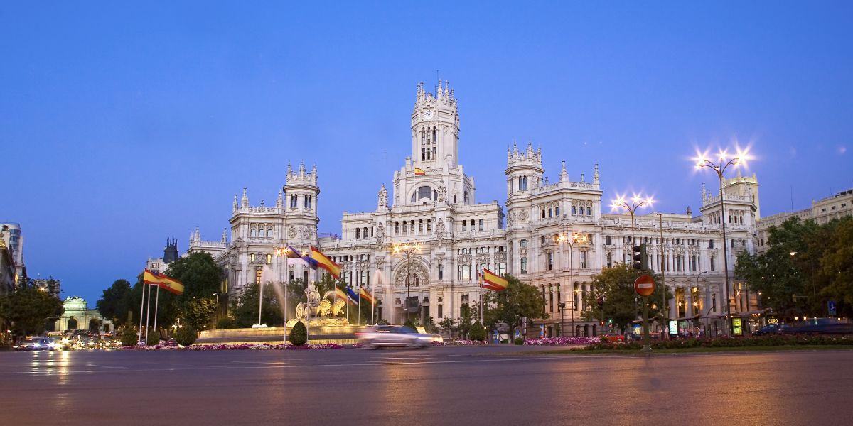 Centrocentro Palacio De Cibeles Madrid Destino