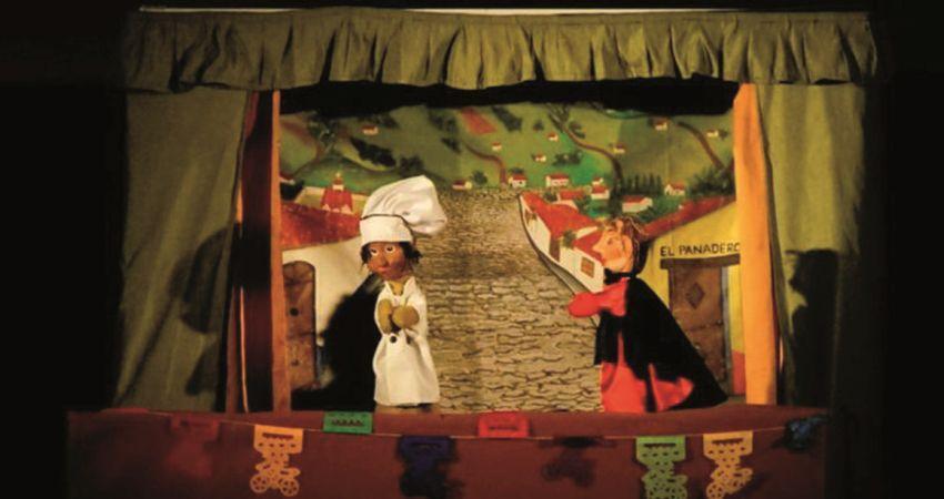 El panadero y el diablo – Compañía de Títeres y Música La Matatena (Méjico-Madrid)