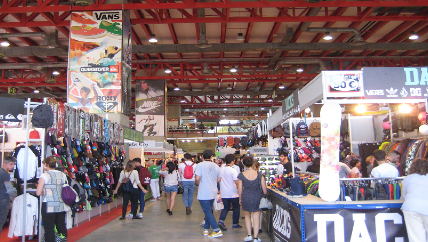 You'll find fashion items and accessories at the fair©Lidón